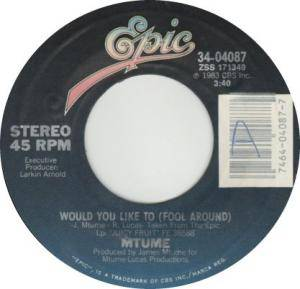 Cover - Mtume: Would You Like To (Fool Around)