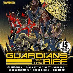 Cover - Ten Foot Wizard: Metal Hammer 261 - Guardians Of The Riff
