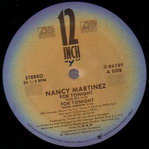 Nancy Martinez: For Tonight - Cover