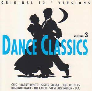 Dance Classics Volume 3 - Cover