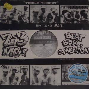 Cover - Z-3 MC's: Trible Threat