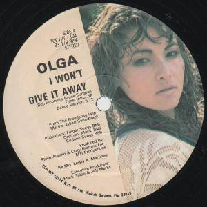 "Olga: I Won't Give It Away (12"") - Bild 3"