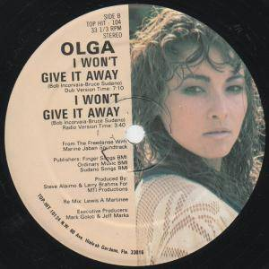 "Olga: I Won't Give It Away (12"") - Bild 4"
