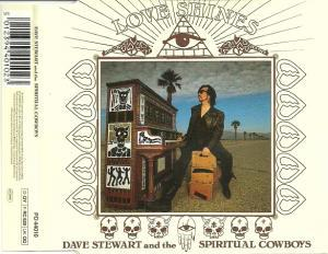 Dave Stewart And The Spiritual Cowboys: Love Shines - Cover