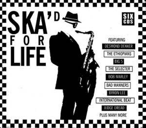 Ska'd For Life - Cover