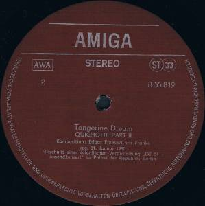 Tangerine Dream: Tangerine Dream (LP) - Bild 4