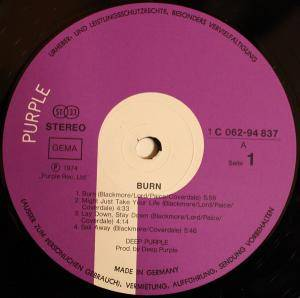 Deep Purple: Burn (LP) - Bild 3