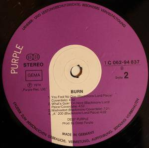 Deep Purple: Burn (LP) - Bild 4