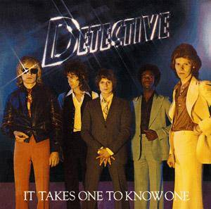 Detective: It Takes One To Know One - Cover