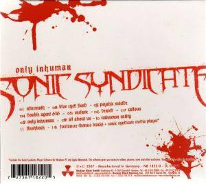 Sonic Syndicate: Only Inhuman (CD) - Bild 2