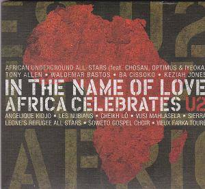 Cover - Cheikh Lô: In The Name Of Love. Africa Celebrates U2