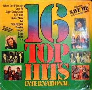 Cover - Milk & Honey: 16 Top Hits International