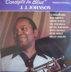Cover - J. J. Johnson: Concepts In Blue