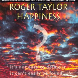 Roger Taylor: Happiness? - Cover