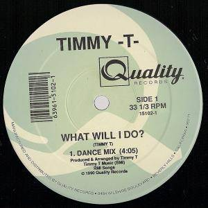 Cover - Timmy T: What Will I Do