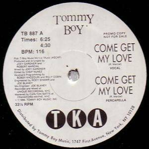 Cover - TKA: Come Get My Love