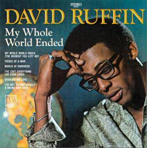 Cover - David Ruffin: My Whole World Ended