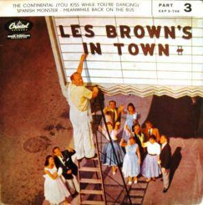 Cover - Les Brown: Les Brown's In Town (EP)