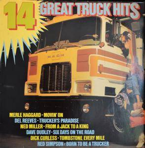 Cover - Del Reeves: 14 Great Truck Hits