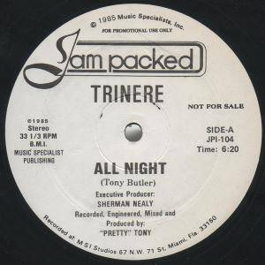 Trinere: All Night - Cover