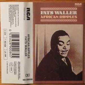 Cover - Fats Waller: African Ripples