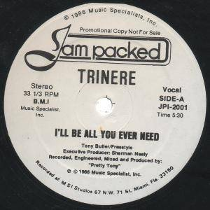 Trinere: I'll Be All You Ever Need - Cover