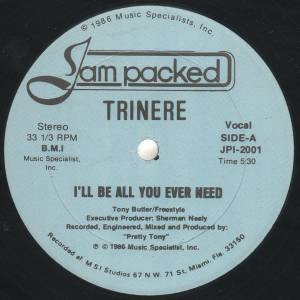 "Trinere: I'll Be All You Ever Need (12"") - Bild 3"
