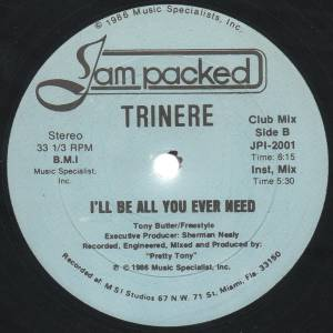 "Trinere: I'll Be All You Ever Need (12"") - Bild 4"