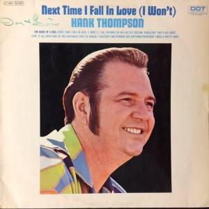 Cover - Hank Thompson: Next Time I Fall In Love (I Won't)