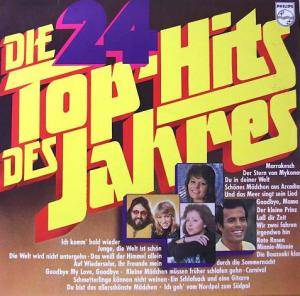 Cover - Andre Lukas: 24 Top-Hits Des Jahres, Die