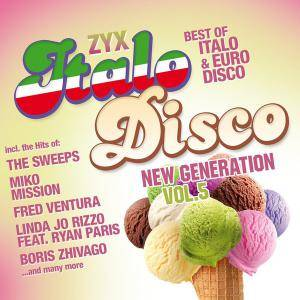 Zyx Italo Disco New Generation Vol. 5 - Cover
