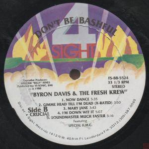 Byron Davis and The Fresh Krew Now Dance - Down With It