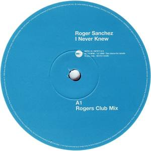 Cover - Roger Sanchez: I Never Knew