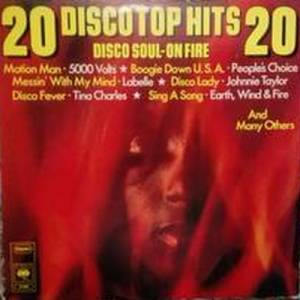 Cover - Temprees: Disco Soul - On Fire 20 Disco Top Hits