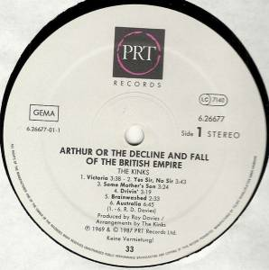 The Kinks: Arthur Or The Decline And Fall Of The British Empire (LP) - Bild 5