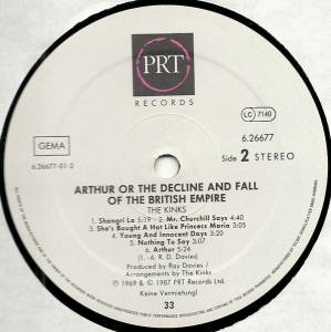 The Kinks: Arthur Or The Decline And Fall Of The British Empire (LP) - Bild 6