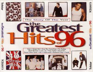 Greatest Hits Of 96 - The Story Of The Year, The - Cover