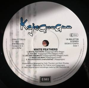 Kajagoogoo: White Feathers (LP) - Bild 6