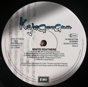 Kajagoogoo: White Feathers (LP) - Bild 7