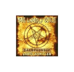 Unholy Bible - Cacophonous Label Sampler, The - Cover