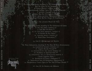 Necros Christos: Triune Impurity Rites (CD) - Bild 3