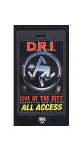 D.R.I.: Live At The Ritz - Cover