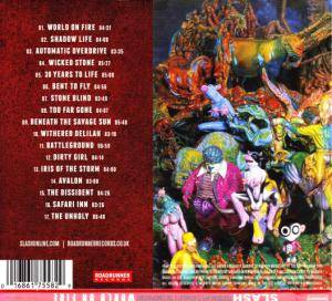 Slash Featuring Myles Kennedy And The Conspirators: World On Fire (CD) - Bild 2