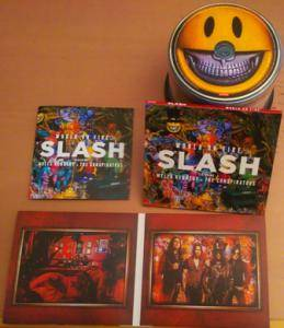 Slash Featuring Myles Kennedy And The Conspirators: World On Fire (CD) - Bild 3