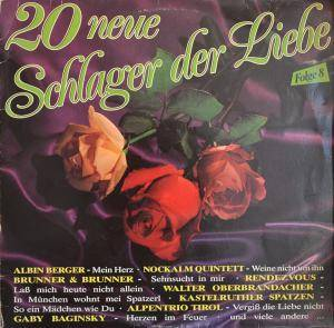 Cover - Patrizius: 20 Neue Schlager Der Liebe Folge 8