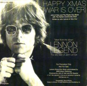 John & Yoko / Plastic Ono Band: Happy Xmas (War Is Over) (Promo-Single-CD) - Bild 2