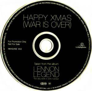 John & Yoko / Plastic Ono Band: Happy Xmas (War Is Over) (Promo-Single-CD) - Bild 3