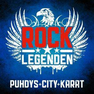 Cover - Puhdys + City + Karat: Rock Legenden