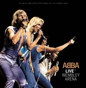 Cover - ABBA: Live At Wembley Arena