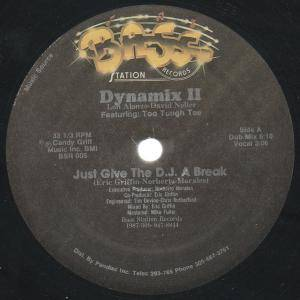 Dynamix II: Just Give The DJ A Break - Cover